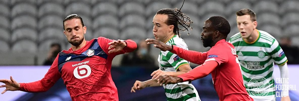 Well-contested Euro tie sees Celts held to a draw against Lille