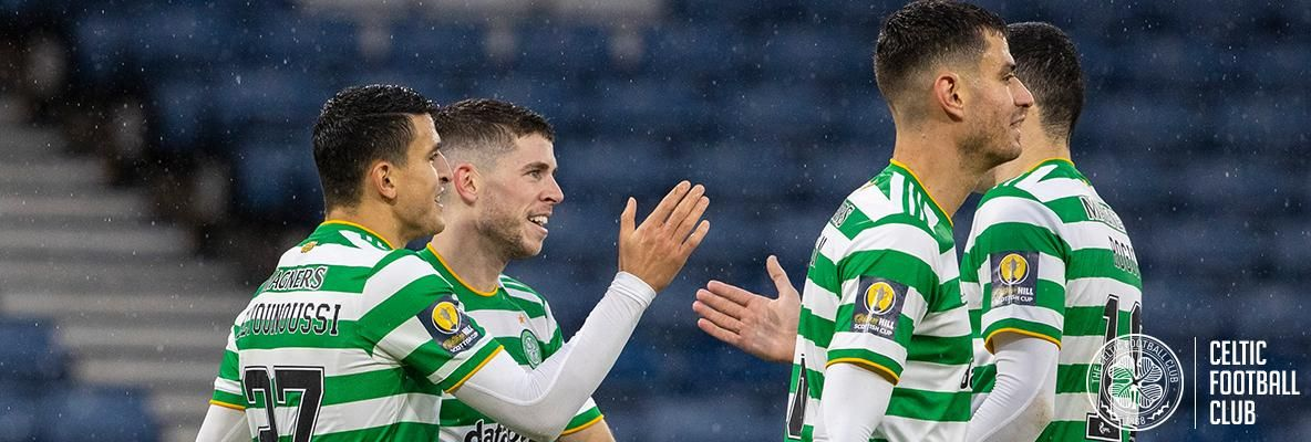 Celtic book their place in Scottish Cup final after outclassing Dons