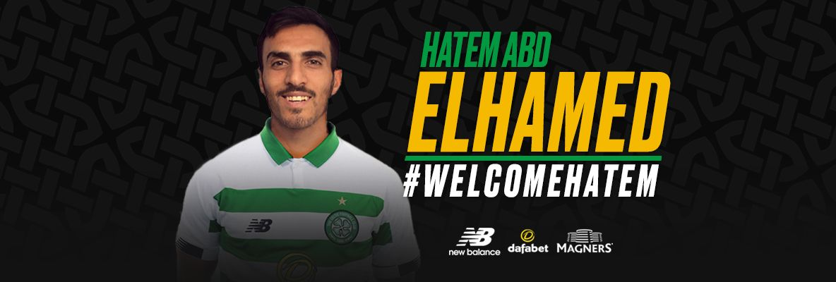 Hatem Abd Elhamed signs and is ready to give everything to Celtic