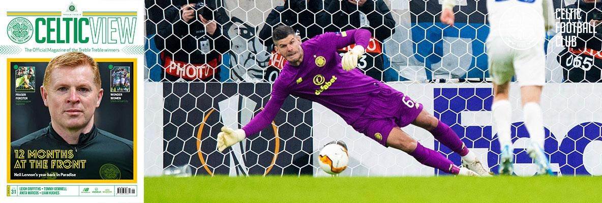 Fraser Forster: We'll be ready for Scottish Cup test