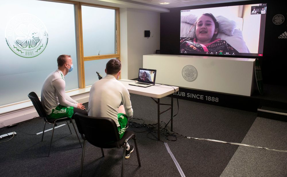 McGregor and Griffiths video call